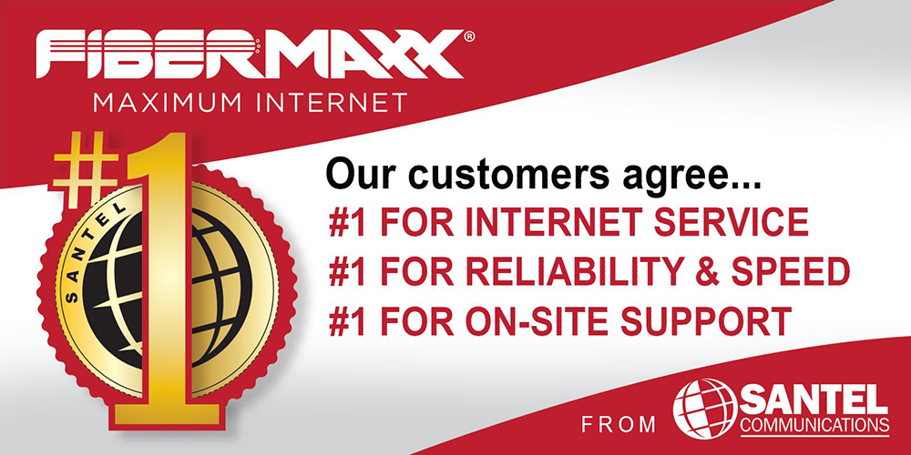 We're number one for service, reliability, speed and support